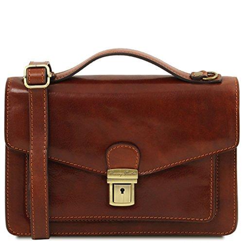 Tuscany Leather Eric - Borsello in pelle a tracolla - TL141443 (Marrone)