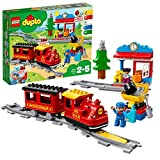 LEGO DUPLO Trains - Tren de Vapor, Juguete Educativo de Aprendizaje de...
