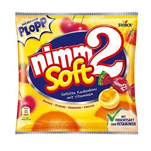 nimm2 soft (1 x 116g) / Kaubonbons mit Fruchtsaft und Vitaminen