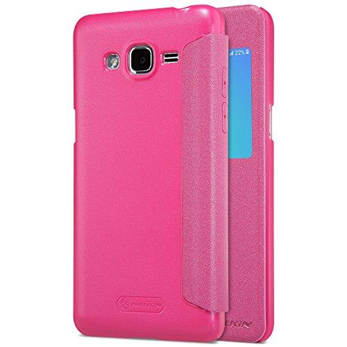 Kepuch Sparkle Samsung Galaxy J2 Prime Hülle - Smart PU Leder Hülle Tasche Hülle Cover für Samsung Galaxy J2 Prime - Rose