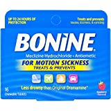 Bonine Motion Sickness Tablets-Raspberry-16 ct., Multicolor (27516)