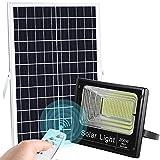 LEDMO 200W LED Solar Flood Light 400LED Dusk to Dawn Solar Powered Street Light Outdoor...