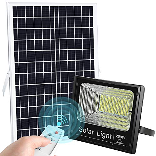 LEDMO Solar Flood Light