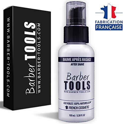 ✮ BARBER TOOLS ✮ Bálsamo para después del afeitado 100 ml - Para el cuidado y el cuidado de la piel - MADE IN FRANCE