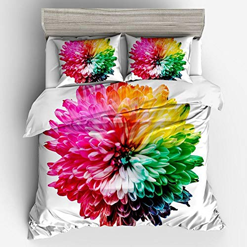 QXbecky Plant and Animal Bedding 3, 4 Piece 3D Digital Printing 260