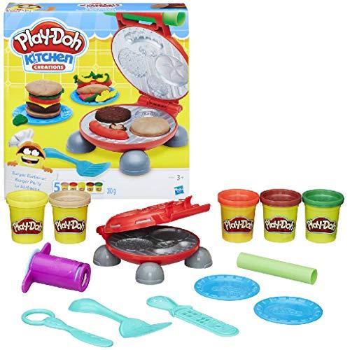 Preisvergleich Produktbild Hasbro Play-Doh 0816B5521EU4 - Burger Party,  Knete