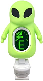 Guitar Tuner Clip-On Cartoon Alien with LCD Display for...