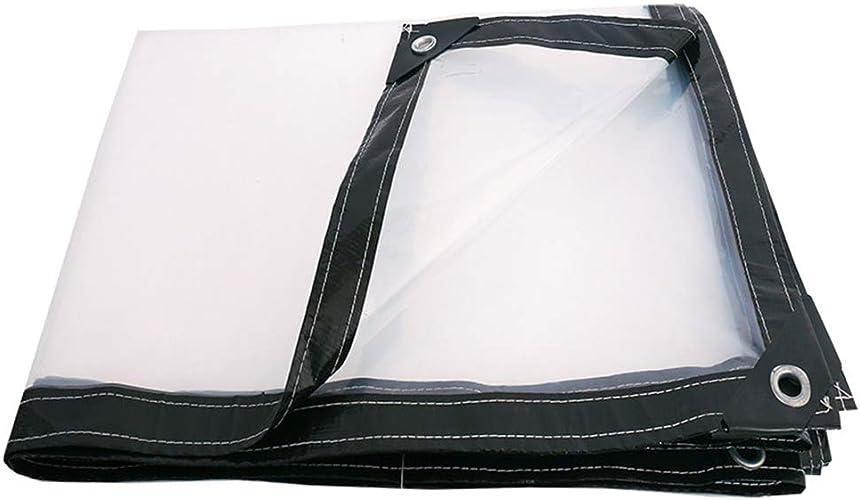 QING MEI-Bache Transparente Tissu Imperméable Tissu Imperméable Tissu épais en Plastique Tissu Pluie Visière Tissu Imperméable Tissu Imperméable Bache De Pluie A+ (Taille   4x10m)