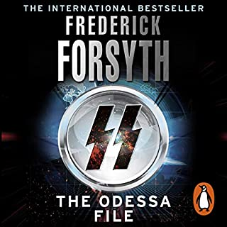 The Odessa File                   By:                                                                                                                                 Frederick Forsyth                               Narrated by:                                                                                                                                 David Rintoul                      Length: 10 hrs and 44 mins     438 ratings     Overall 4.5