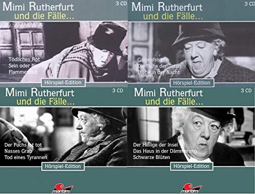 Mimi Rutherfurt und die Fälle Box 5, 6, 7 + 8 CD (12 Krimi-Hörspiele, Folge 13-24)