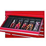 New 6 Compartment Drawer Organizer Tool 21.75 in. x 10.2 in. x 1.5 in. Chest Holder for tools, nails, screws, fishing tackle