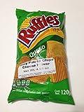 Ruffles Sabritas Queso Cheese Potato Chips, 5 oz