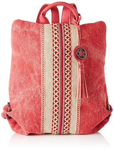 ctta caminatta Timonel, Mochila para Mujer, (Rojo), 9x33x29 cm (W x H x L)