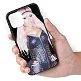 Nicki Minaj Cell Phone Cases for iPhone 11/iPhone 11 Pro/iPhone 11 Pro Max Back Cover Protective Basic Apple Case Soft TPU+Pc Mobile Shell Frame,iPhone 11 Pro