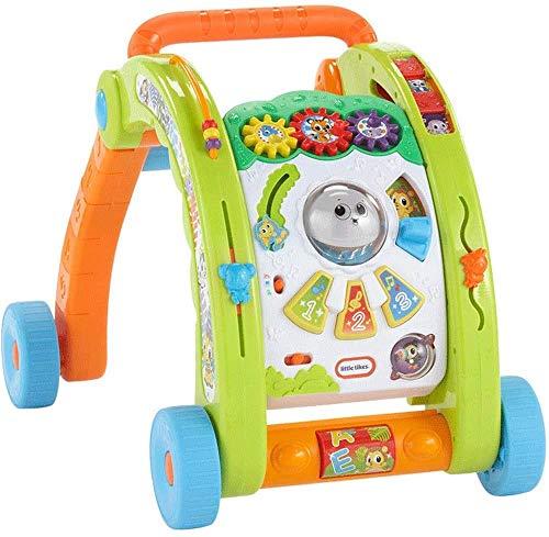 Voiture à Pied Walkers 3 en 1 Walker, Voiture Jouet for Enfants, Baby Walker, Step by Step bébé Jouets à Pousser marchettes for bébés (Couleur: Multicolore, Taille: Taille Libre)
