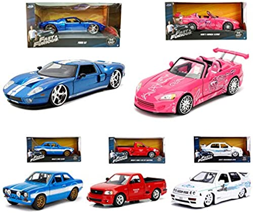 suministro directo de los fabricantes Jada 1 24 Fast & Furious Furious Furious Die-Cast 5 in 1 Set Car New Stock Model Collection  Venta al por mayor barato y de alta calidad.