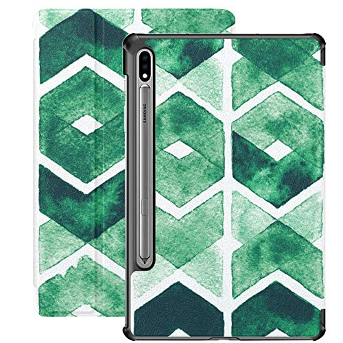 Green Color Creature Design Case Galaxy S7 For Samsung Galaxy Tab S7/s7 Plus Samsung Case Stand Back Cover Samsung Galaxy Tablet Case For Galaxy Tab S7 11 Inch S7 Plus 12.4 Inch