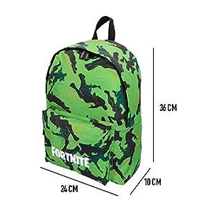Fortnite – Mochila Camuflaje verde 31 x 43 cm (77082)