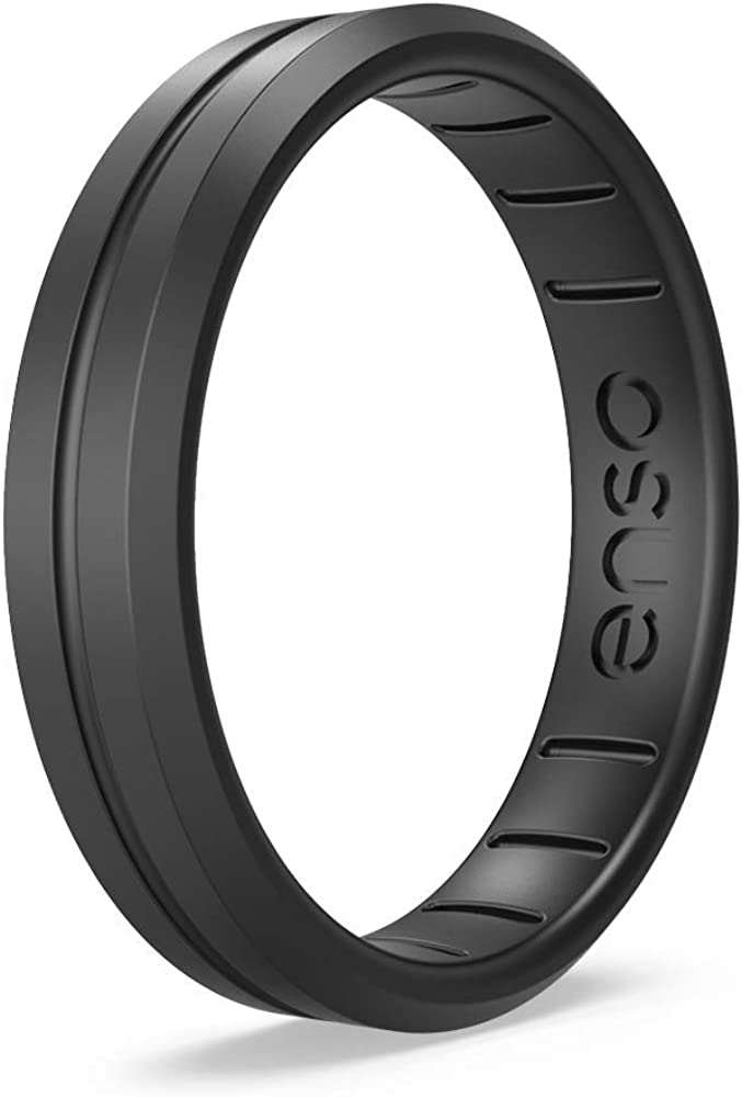 Lifetime Quality Promise Handmade in The USA Enso Rings Thin Contour Silicone Ring The Premium Fashion Forward Silicone Ring