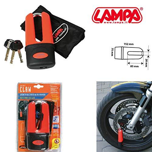 90613 CLAW LUCCHETTO BLOCCADISCO PER MALAGUTI ARCO IN ACCIAIO MOTO SCOOTER LAMPA
