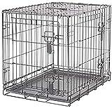 Dogit Jaula Plegable de 2 Puertas, 61 x 45 x 51 cm