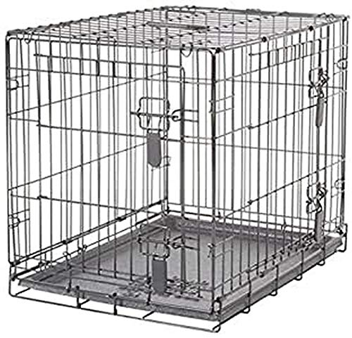 Dogit 2-Door Wire Home Dog Crate with Divider, Medium 20% AmazonPets Basic Crates Dog from Markdowns Off Pet Selection Supplies Top Toys Treats