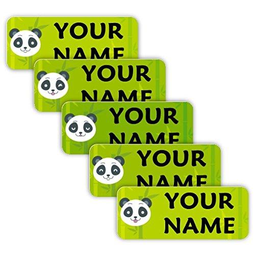 Etiqueta Para Equipaje Panda  marca Oliver's Labels