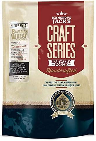 Mangrove Jack's Craft Series - Bolsa de cerveza de trigo bávaro (2,2 kg)