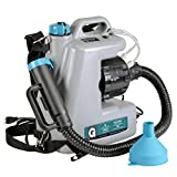 G Fogger Machine Máquina de desinfección Electric ULV Fogger Sprayer ULV Pulverizador de Niebla Eléctrico Portátil Pulverizador 1400W 230V AC 12L 15 GPH Atomizador