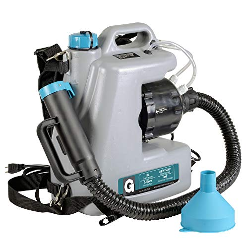 G Fogger Machine Sprüher Drucksprüher Pflanzensprüher Rückenspritze Zerstäuber Bleichmittel Spray Mist Duster ULV Sprayer 12L 15GPH Nebelgebläse