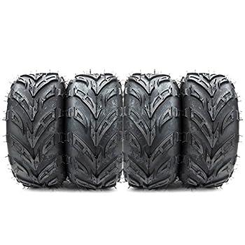 Set of 4 Motorhot ATV Go Kart Tires 145/70-6 ATV Tires All-Terrain Off Road 4 PR P361 Tubeless
