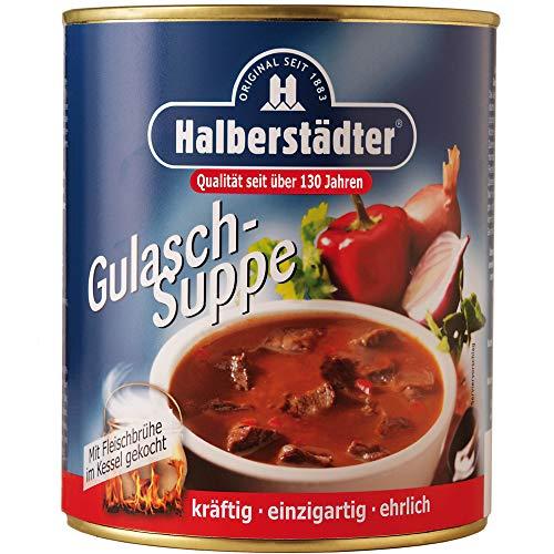 Halberstädter Gulaschsuppe 800ml - nostalgische DDR Kultprodukte - Ostprodukte