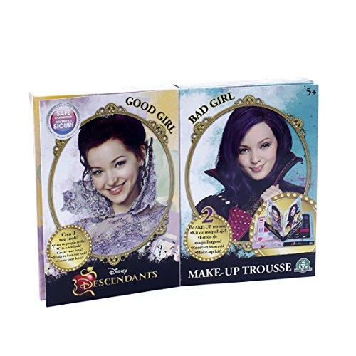 Giochi Preziosi-GPZ13062 Disney Descendants Make-Up Trousse Doppia per Bambini, Multicolore, 13062