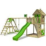 FATMOOSE Parco giochi in legno HappyHome Hot XXL Giochi da giardino con...