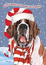 Pipsqueak Productions C726 Saint Bernard Christmas Boxed Cards - Pack of 10