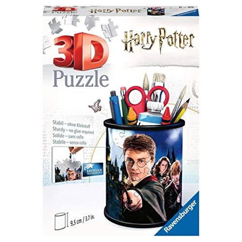 Ravensburger- Portapenne Harry Potter Puzzle 3D, Multicolore, 54 Pezzi, 11154