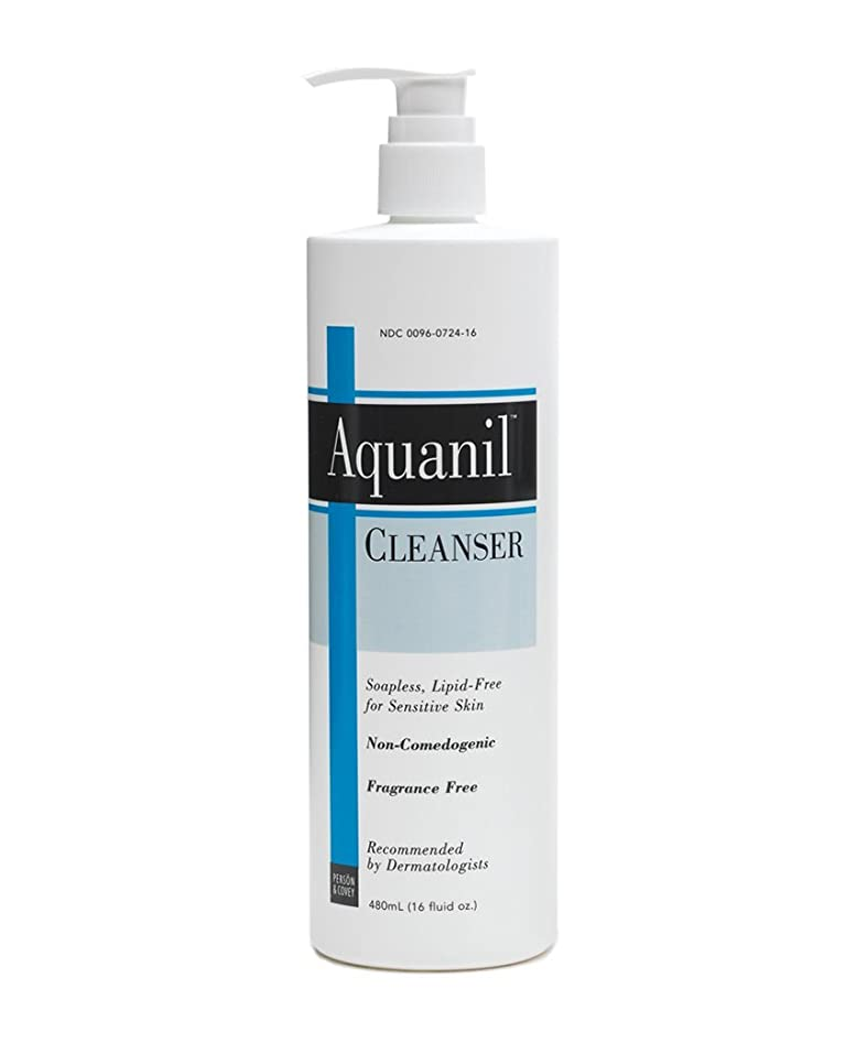 レンダリング人種気楽な海外直送肘 Aquanil Cleanser A Gentle Soapless Lipid-Free, 16 oz