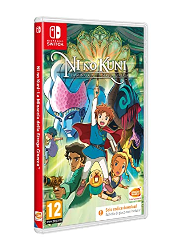 Ni No Kuni: Wrath of The White Witch (Code In The Box) - Nintendo Switch