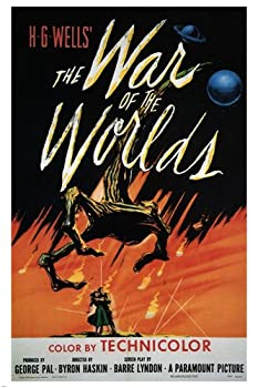 The war of the worlds MOVIE POSTER H G Wells 1953 24X36 rare hot NEW  reproduction not an original