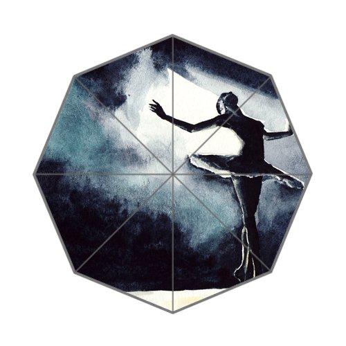 Flipped Zomer Y Zwarte Zwaan Ballerina Tekenen Aangepaste Art Prints Paraplu