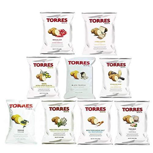 トーレス ポテトチップス 9種 食べ比べセット スペインのスナック 輸入菓子 輸入スナック 輸入ポテトチップス 高級ポテトチップス 輸入ポテトチップス スペインのスナック 輸入菓子 海外ポテトチップス 海外スナック 高級ポテトチップス