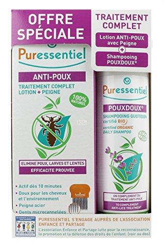 Puressentiel Traitement Complet Anti-Poux Lotion 100 ml...