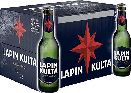Lapin Kulta Bier 24X0,33l Flaschen 5,2%