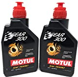 Motul Gear 300 75W90 Synthetic Transmission and Differential Fluid - Liter - 2