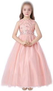 GFDGG 女の子プリンセスフラワーページェントパーティーチュチュドレスプリンセスドレス (サイズ : 140)