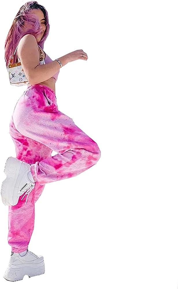 malianna Women Elastic Waist Streetwea Casual Trousers Super famous beauty product restock quality top Patchwork