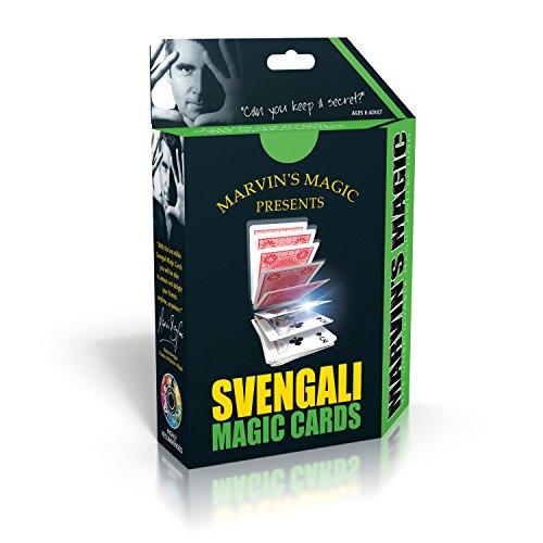 Marvin's Magic 54073 - Zauberkasten Marvin`s Svengali magische Karten, Komplettset mit 46 Karten für Kartentricks, Zauber Set für Magier ab 8 Jahre, englische Anleitung und Link zur deutschen Version