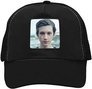 BUZAILIANX-11 Troye Sivan Men & Women Adjustable Unisex Snapback Trucker Hat Mesh Cap