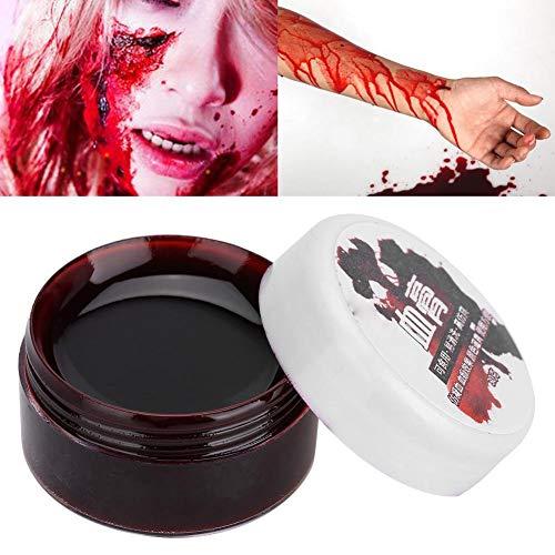 Meiyya Gel de Sangre Falso, Gel de Aceite Profesional para el Cuerpo y la Pintura de la Cara para Halloween(30ML)