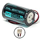 3.6v 14000mAh DSC WT4911BATT WT4911B ER34615M-T1 Battery ALEXOR ADT Wireless Outdoor Siren Strobe Lithium-Thionyl Chloride Non-Rechargeable Battery Pack Replacement for DSC Wireless Outdoor Siren